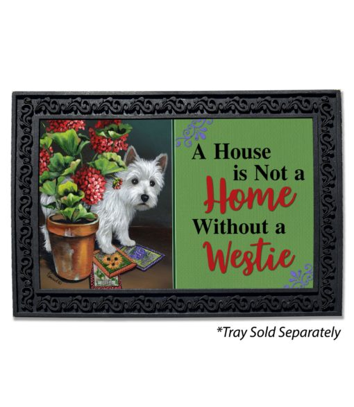 West Highland Terrier Seedlings House Not a Home Doormat