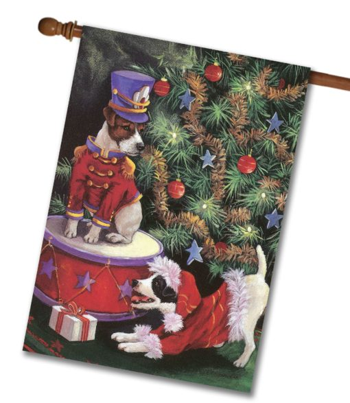 Jack Russell Terrier My Gift To You - House Flag - 28'' x 40''