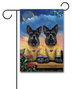Scottish Terrier Soul Mates - Garden Flag - 12.5'' x 18''