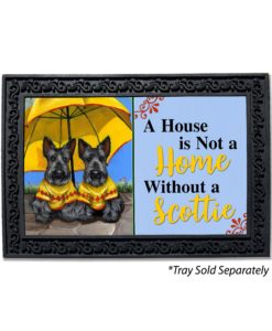 Scottish Terrier Sunshine House Is Not a Home Doormat